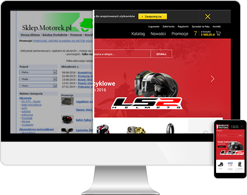Redesign szaty graficznej w oprogramowaniu KQS.store
